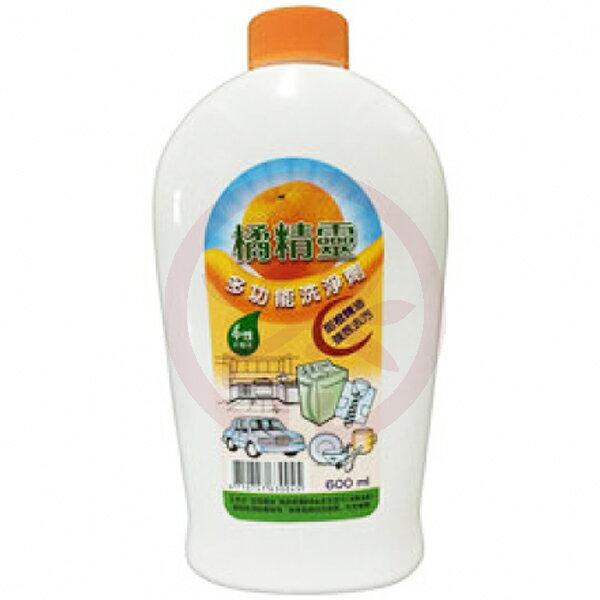 美好人生 橘精靈多功能洗淨劑 600ml/瓶