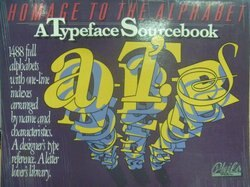【書寶二手書T9/設計_ZJI】Homage to the Alphabet_Atypeface Sourcebook