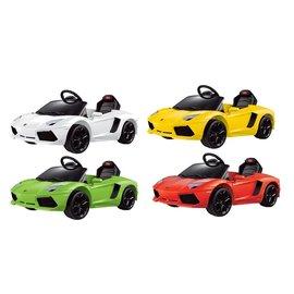 【淘氣寶寶●活動優惠5980含運】藍寶堅尼 LamborghiniL 兒童電動車/遙控車【贈Kids II-Oball 洞動直昇機】