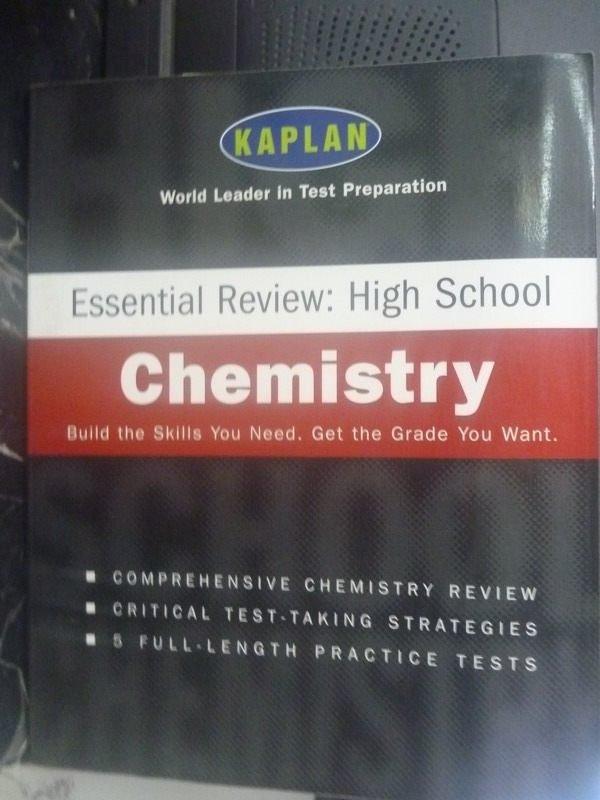 【書寶二手書T9/大學理工醫_YIQ】Kaplan Essential Review