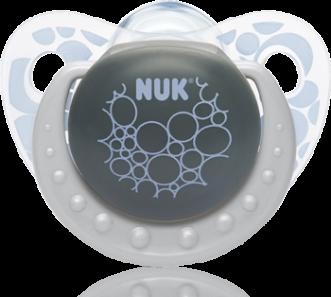 『121婦嬰用品館』NUK 安睡型矽膠安撫奶嘴 - 初生(2入) 0