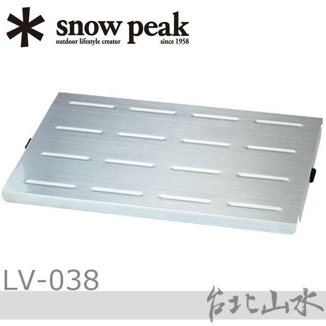 Snow Peak LV-038 竹折桌不鏽鋼板/不鏽鋼桌板/LV-034T 個人快速竹折桌專用/日本雪峰