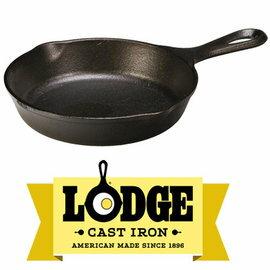【鄉野情戶外用品店】 Lodge |美國|  平底鍋/早餐煎鍋 荷蘭鍋 鑄鐵鍋/L3SK3 《6.5吋》