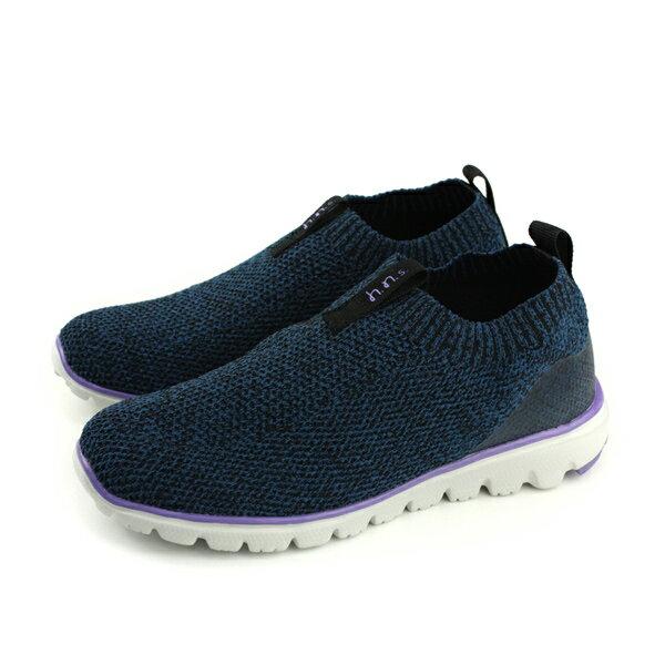 HiromichiNakano懶人鞋休閒鞋深藍色女鞋HI4055no185