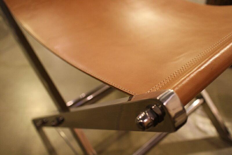 Upptäck Deco 騎士棕色皮革椅凳【7OCEANS七海休閒傢俱】 2