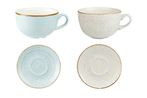 英國Churchill點藏系列-240ml咖啡花茶杯組(共兩色可選)