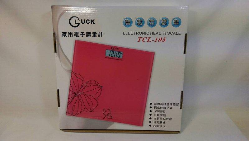 【八八八】e網購~ 【GUCK 家用電子體重計TCL-105 】 磅秤 體重計 非體脂肪機 減重
