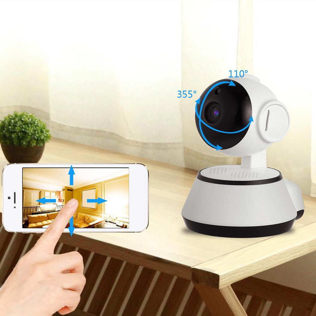 WiFi Baby Monitor Alarm Security Camera HD 720P IR Night Vision 3