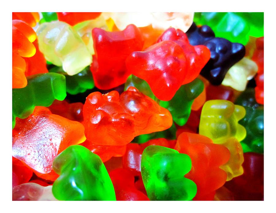 散糖軟糖區‧ 泰迪熊造型 小熊QQ軟糖 300g(半斤) 【合迷雅好物商城】