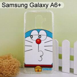 哆啦A夢空壓氣墊軟殼[斜眼]SamsungGalaxyA6+(6吋)小叮噹【正版授權】