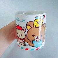 拉拉熊碗/水杯推薦到正版拉拉熊馬克杯 巴黎就在阿花Toys夢工場推薦拉拉熊碗/水杯