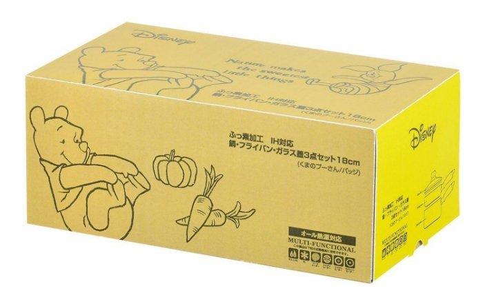 日本【PEARL金屬】Disney 平底鍋/牛奶鍋/玻璃蓋特惠組 WD-9069