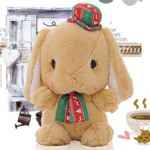 美麗大街【HB106082230】AmuseLOLITA超萌垂耳兔布娃娃玩偶大頭兔子公仔毛絨玩具新年禮物