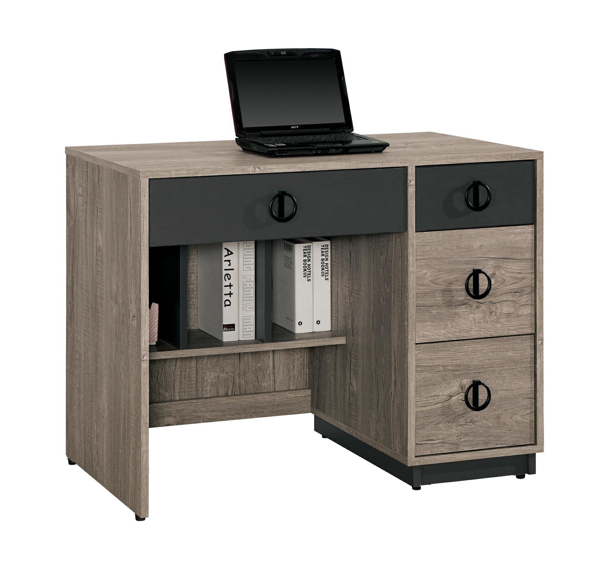 【尚品家具】CM-880-4 費納3.2尺書桌