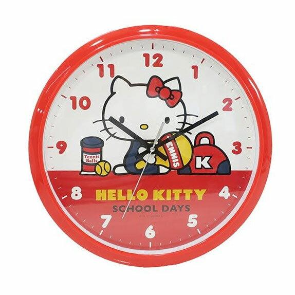Hello Kitty 時鐘 掛鐘 靜音 日本帶回正版商品