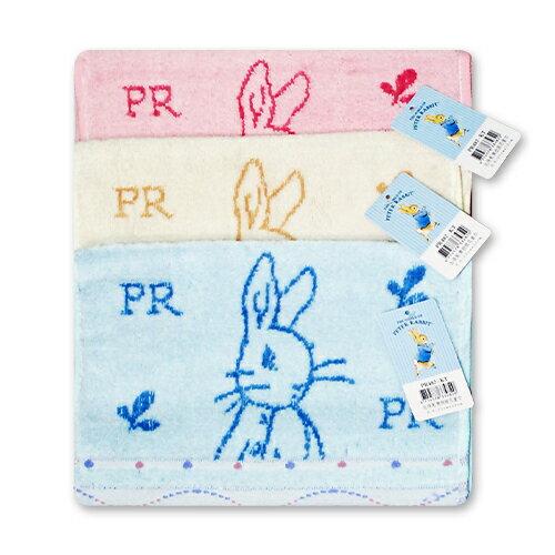 ★衛立兒生活館★彼得兔/比得兔無捻提花童巾(顏色隨機出貨)PR482-KT