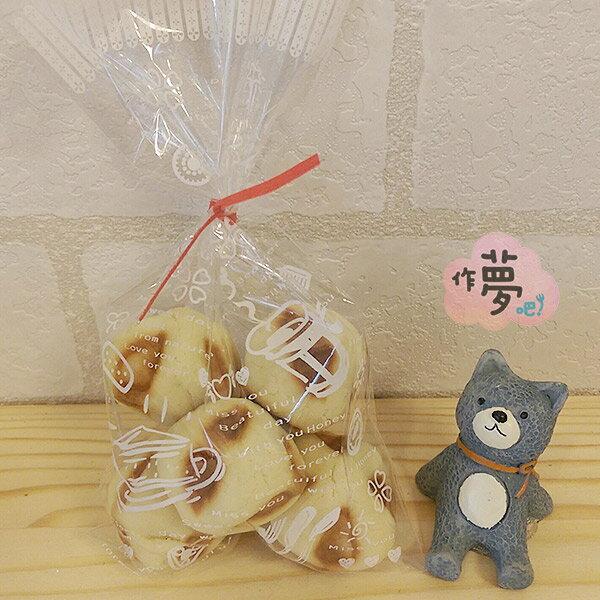 【作夢吧!蛋糕】小鬆餅乾:手工餅乾婚禮小物下午茶點心(6包組/1包6顆)