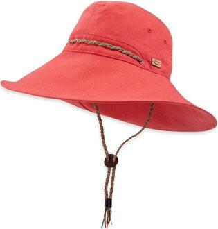 Outdoor Research 透氣圓盤帽/大盤帽/遮陽帽 Mojave 女 OR80227 448 火焰紅