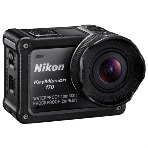 "Nikon KeyMission Digital Camcorder - 1.5"" LCD - RGB CMOS - 4K - Black - 16:9 - H.264/MPEG-4 AVC, MOV - Electronic (IS) - HDMI - USB - microSD, microSDXC, microSDHC - Memory Card 2"