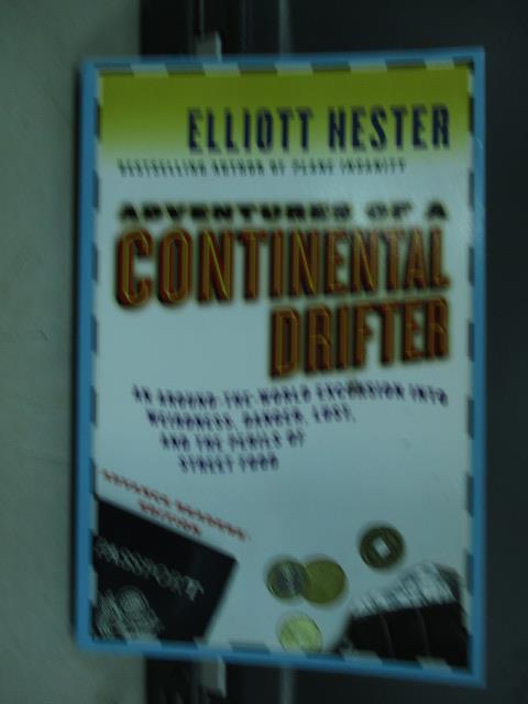 【書寶二手書T4/原文小說_JAM】Continental Drifter_Elliott Hester