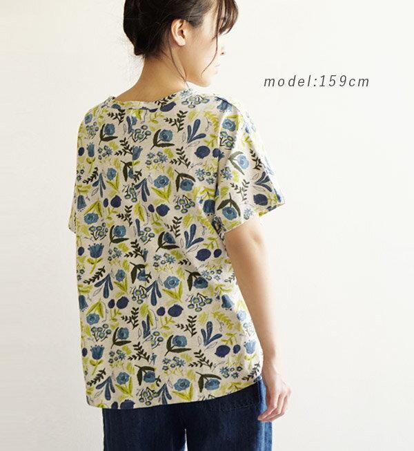 日本e-zakka / 花樣短袖T恤 / 32674-1801256 / 日本必買 代購 / 日本樂天直送(2900) 9