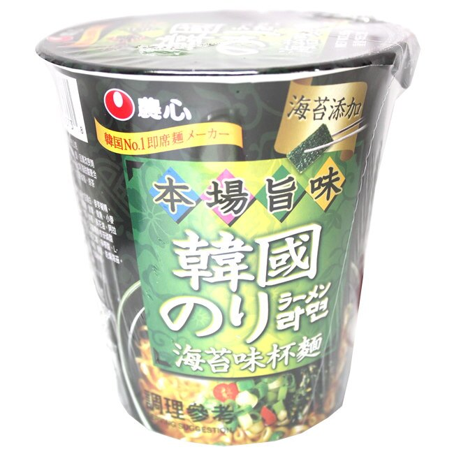 農心韓國海苔味杯麵