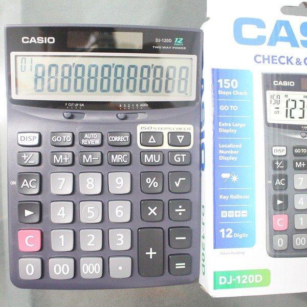 CASIO 卡西歐 DJ-120D 150組記憶檢視型計算機/一個入{促800}