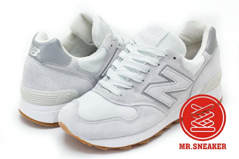 ☆Mr.Sneaker☆NEW BALANCE 1400 美製 USA 皮革 白色 M1400JWH 男女段