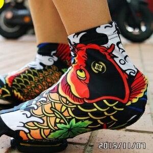 美麗大街【BK104111001】XINTOWN公路車單車鞋套~為你的卡鞋添新衣吧