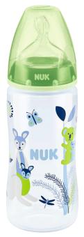 『121婦嬰用品館』NUK 寬口徑PP奶瓶300ml - (2號中圓洞) 1