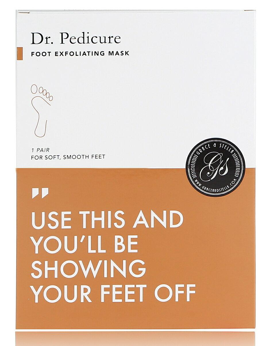 Dr. Pedicure Foot Exfoliation Peeling Mask (Coconut) by Grace & Stella Co. 0