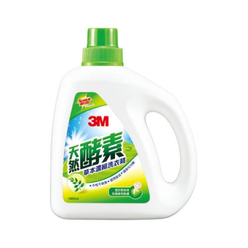 3M 天然草本洗衣精1800ML/L102