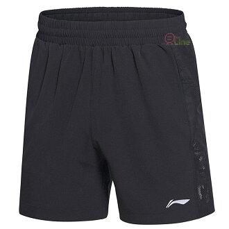 【登瑞體育】LI-NING李寧 男款彈性羽球短褲 LNAAPM0272