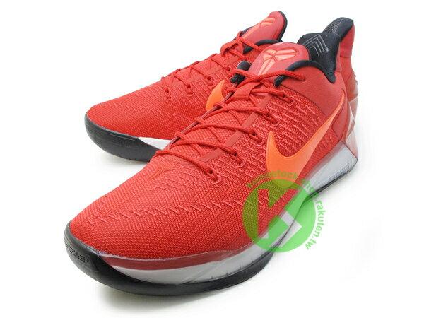 2016-2017 NBA 湖人球星 小飛俠 最新代言鞋款 NIKE KOBE A.D. AD 12 EP UNIVERSITY RED 低筒 鮮紅 橘勾 Kobe Bryant 籃球鞋 LUNARLON + ZOOM AIR 避震 ENGINEERED MESH 鞋面科技 搭載 死後重生 全新世代 (852427-608) 0117 1