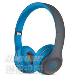【曜德視聽★新上市】Beats Solo 2 Wireless Active 電光藍 無線藍芽 內建麥克風 ★免運★