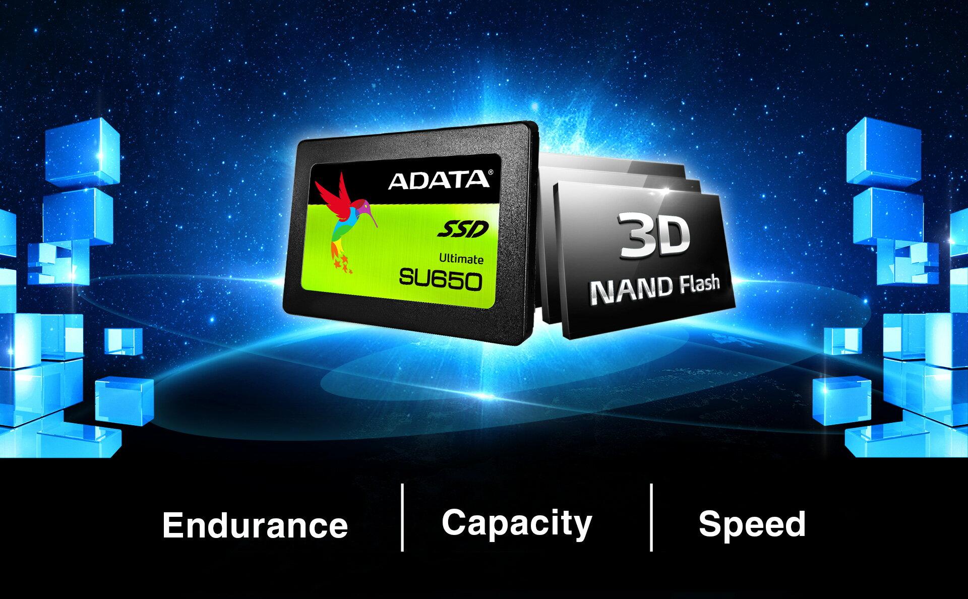 "ADATA Ultimate SU650 3D NAND 2.5"" 960 GB SSD (ASU650SS-960GT-C) 4"