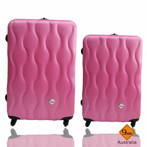 Gate9波西米亞系列ABS霧面輕硬殼28吋+24吋旅行箱 / 行李箱 3