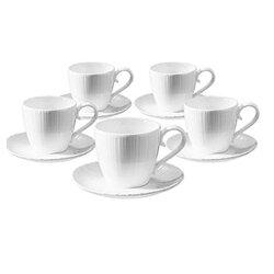 [滿3千,10%點數回饋]『Tiamo』☆經典五杯五盤咖啡杯組 SP-1611 *免運費*