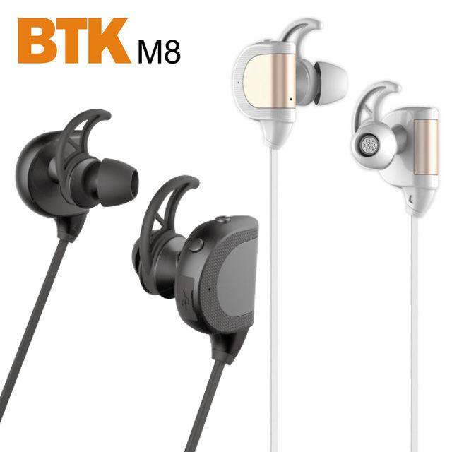 ★原廠公司貨附發票★ 【BTK】M8 立體聲運動藍牙耳機 黑/白