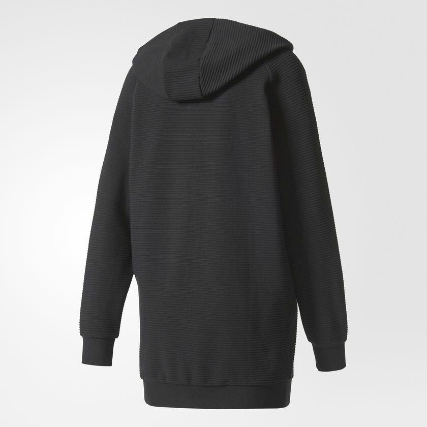 【領券最高折$300】Adidas EQT Hooded Track Jacket 女裝 外套 連帽 慢跑 休閒 純棉 黑 【運動世界】BP9230