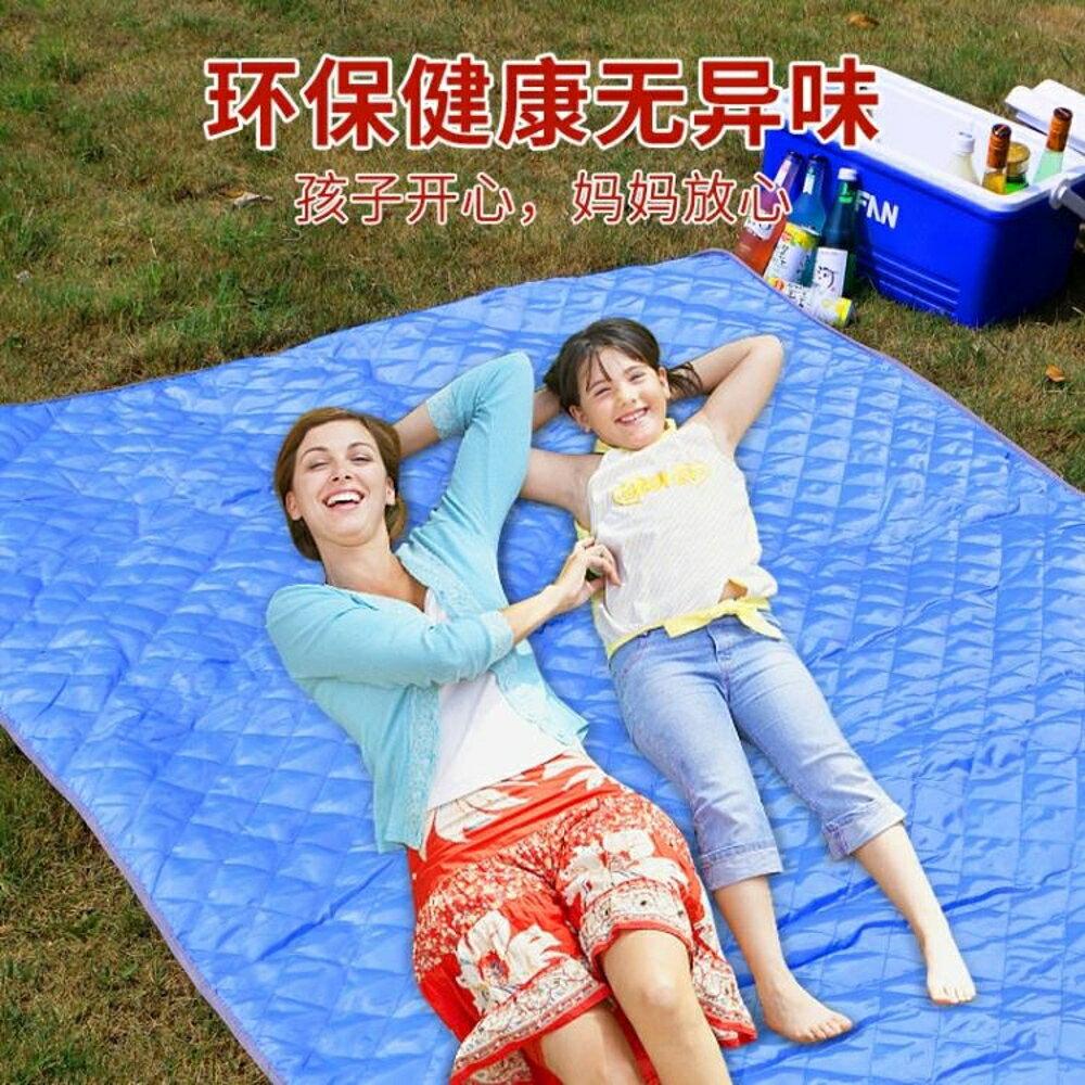 野餐墊戶外墊子防潮野餐墊野炊地墊草坪墊加厚便攜露營郊游野餐布 新春鉅惠