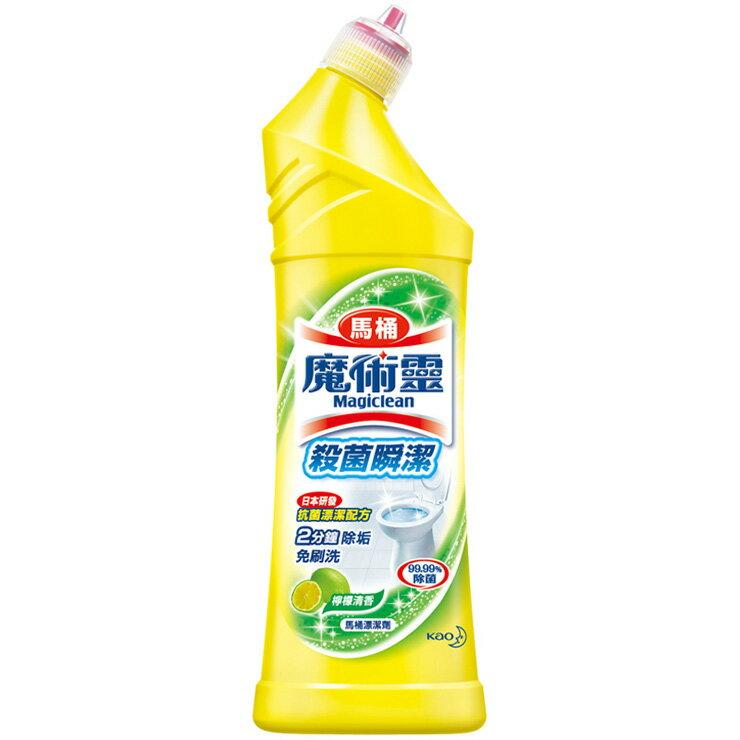魔術靈 殺菌瞬潔馬桶清潔劑 檸檬清香 500ml