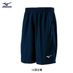 MIZUNO 美津濃 針織運動短褲 (丈青) 舒適 透氣排汗 32TB8A0314【 胖媛的店 】