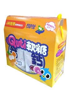 德芳保健藥妝:小兒利撒爾Quti軟糖(鈣配方)25g12入禮盒組【德芳保健藥妝】