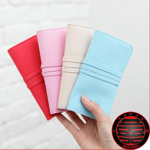 ~不囉唆~~A211284~ 不挑色  4色TK10~255飾品包 韓國糖果色麂皮首飾包.