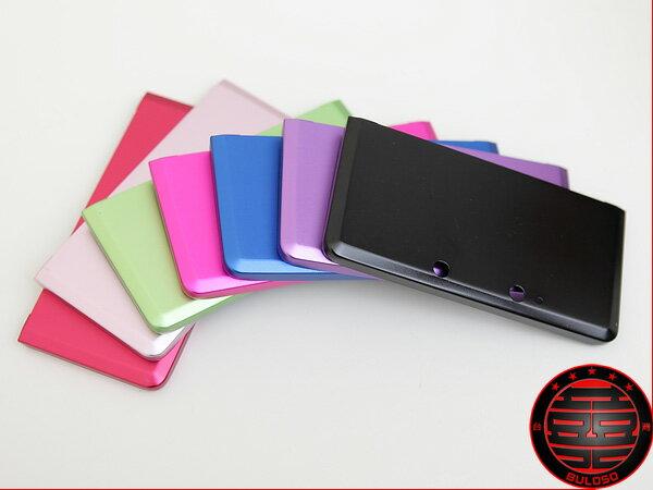 《台中不囉唆》輕量密合N3DS金屬主機防護鋁殼 3DS二片式金屬保護硬殼(不挑色/款)【A217330】