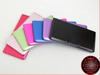 《不囉唆》輕量密合N3DS金屬主機防護鋁殼 3DS二片式金屬保護硬殼(不挑色/款)【A217330】