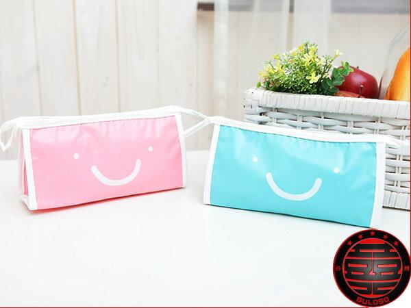 不囉唆:59元【A218641】(不挑款) 4色SV11-10微笑水晶果凍多功能包 收納包 包中包 袋中袋