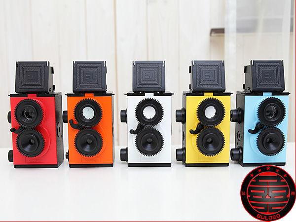 《不囉唆》DIY 雙鏡頭反光LOMO相機 LOMO/相機/照相(不挑色/款)【A218696】