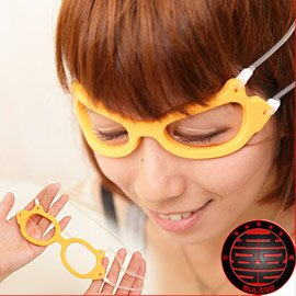 《不囉唆》消除眼角皺紋按摩眼罩 眼周美容護目眼鏡 去眼角皺紋按摩眼罩【A221382】